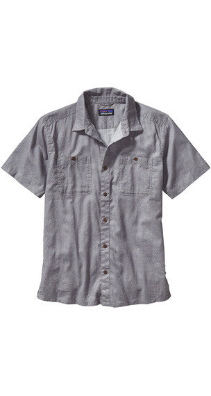 Patagonia M's Back Step Shirt Fisher: Drifter Grey